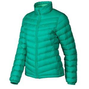 Marmot Jena down puff jacket 700 down fill teal